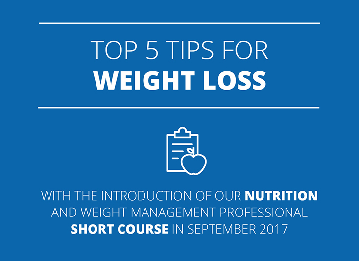 Top 5 Tips For Weight Loss