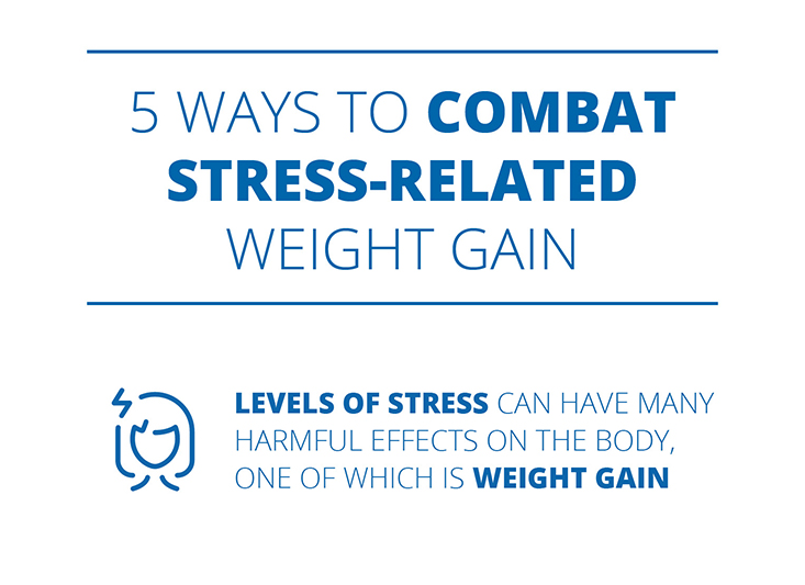 5 ways to combat stress-related weight gain