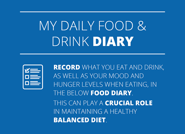 My Daily Food & Drink Diary